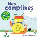 Mes comptines : 6 comptines à écouter, 6 images à regarder - ElsaFouquier