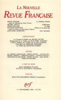 Nouvelle revue française, n° 370 -