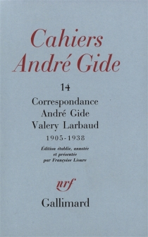 Cahiers André Gide, n° 14 - AndréGide