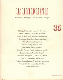 Infini (L'), n° 35 -