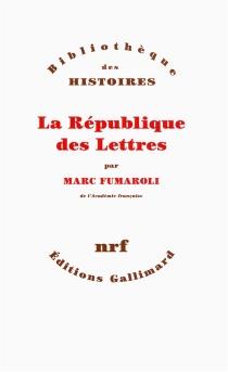 La République des lettres - MarcFumaroli