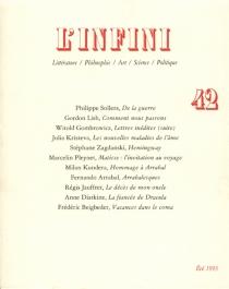 Infini (L'), n° 42 -