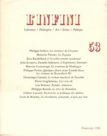 Infini (L'), n° 53 -
