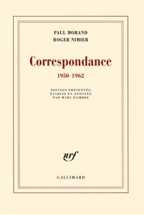 Correspondance : 1950-1962 - PaulMorand