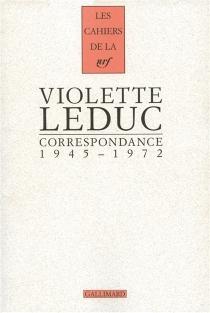 Correspondance : 1945-1972 - VioletteLeduc
