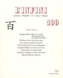 Infini (L'), n° 100 -