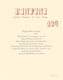 Infini (L'), n° 136 -