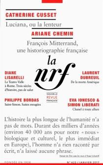 Nouvelle revue française, n° 622 -