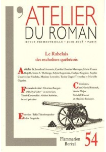 Atelier du roman (L'), n° 54 -