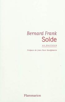 Solde : un feuilleton - BernardFrank