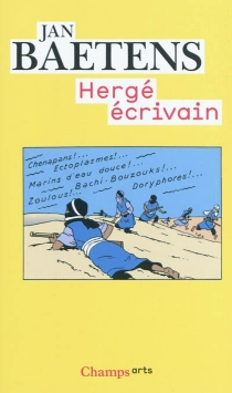 Hergé écrivain - JanBaetens
