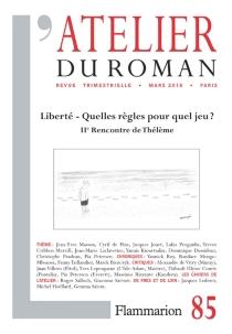 Atelier du roman (L'), n° 85 - Rencontre de Thélème