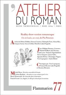 Atelier du roman (L'), n° 77 -