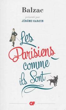 Les Parisiens comme ils sont - Honoré deBalzac