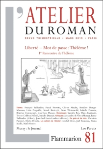 Atelier du roman (L'), n° 87 -