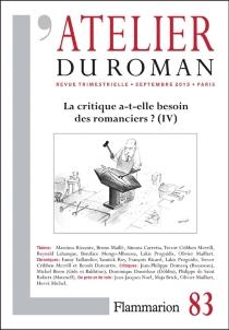 Atelier du roman (L'), n° 83 -
