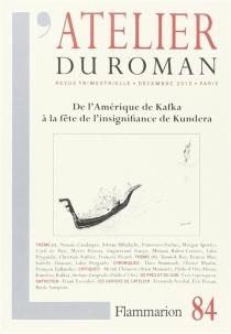 Atelier du roman (L'), n° 84 -