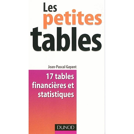 Les petites tables 17 tables financi res et statistiques for Table financiere