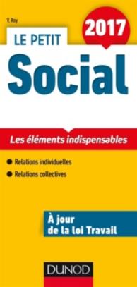 Le petit social 2017 : les éléments indispensables : relations individuelles, relations collectives