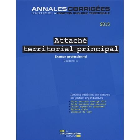 Attach territorial principal 2015 examen professionnel - Grille indiciaire attache territorial principal ...