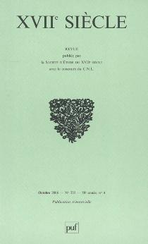 Dix-septième siècle, n° 233 -