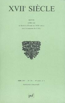 Dix-septième siècle, n° 236 (2007) -