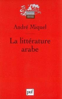 La littérature arabe - AndréMiquel