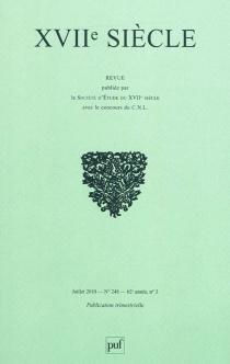 Dix-septième siècle, n° 248 -