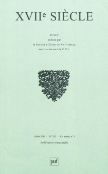 Dix-septième siècle, n° 252 -