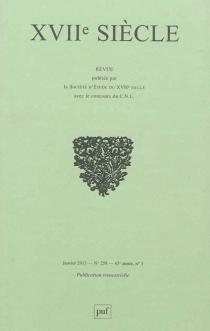 Dix-septième siècle, n° 258 -