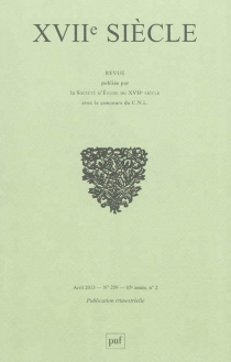 Dix-septième siècle, n° 259 -