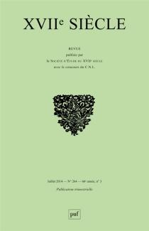 Dix-septième siècle, n° 264 -