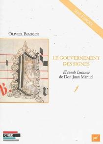 Le gouvernement des signes : El conde Lucanor de Don Juan Manuel - OlivierBiaggini