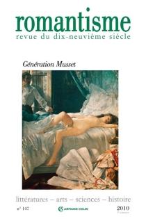 Romantisme, n° 147 -