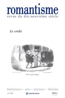 Romantisme, n° 151 -