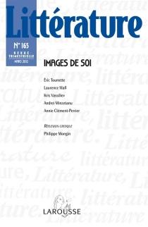 Littérature, n° 165 -