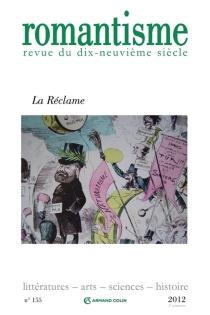 Romantisme, n° 155 -