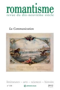 Romantisme, n° 158 -