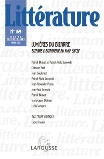 Littérature, n° 169 -