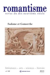 Romantisme, n° 159 -