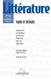 Littérature, n° 173 -
