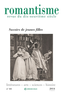 Romantisme, n° 165 -