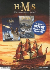 HMS : une grande épopée navale ! : tomes 1 et 5 -