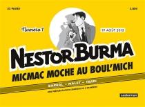 Micmac moche au Boul'Mich, Nestor Burma, n° 1 - NicolasBarral