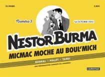 Micmac moche au Boul'Mich, Nestor Burma, n° 3 - NicolasBarral