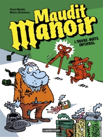 Maudit manoir - ManuBoisteau