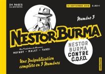 Nestor Burma contre CQFD, Nestor Burma, n° 3 - EmmanuelMoynot