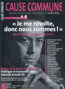 Cause commune, n° 4 -