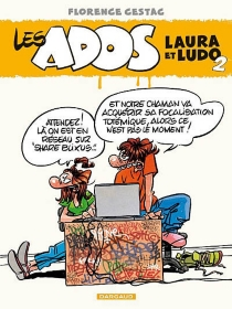 Les ados Laura et Ludo - FlorenceCestac