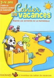 cahier de vacances 4 ans
